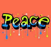 Peace Graffiti by Lady LoveBird