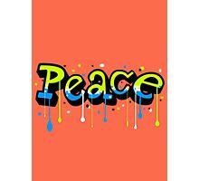 Peace Graffiti Photographic Print