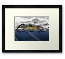 Aspic - Tortue Framed Print