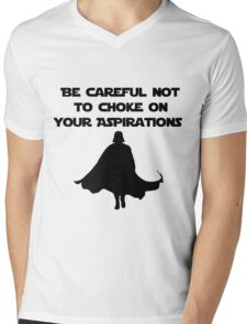 Asperations Mens V-Neck T-Shirt