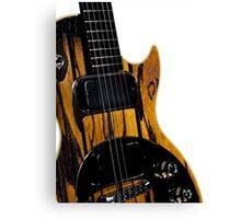 Gibson Guitar Canvas Print