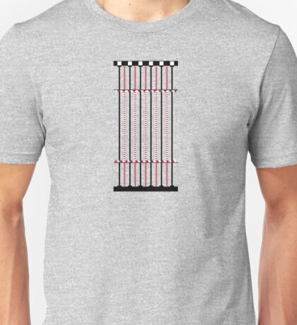Swimming Pool Diagram Unisex T-Shirt