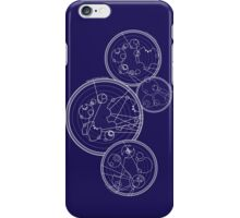 Doctor Who Gallifreyan - We're All Stories quotes iPhone Case/Skin