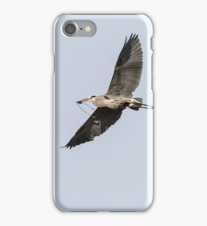 Great Blue Heron 2015-10 iPhone Case/Skin