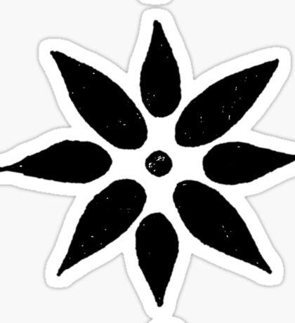 Lotus Doodle Sticker