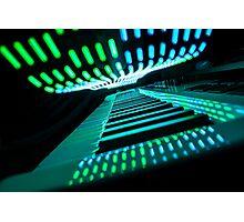 Neon Keys Photographic Print