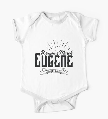 Women's March Eugene Unofficial One Piece - Short Sleeve