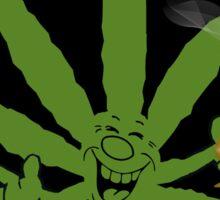 Very Funny  Marijuana Sticker