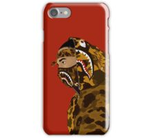 Draped In Bape (Red) iPhone Case/Skin