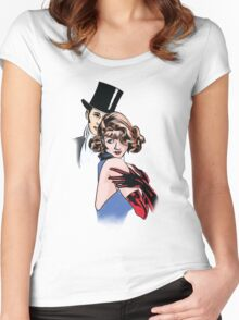 Happy New Year 2017, My Friends  Women's Fitted Scoop T-Shirt