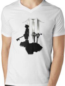 Kindom Hearts III Mens V-Neck T-Shirt