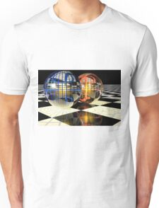 Spheres refraction reflections Unisex T-Shirt
