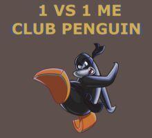 1v1 Me Club Penguin Baby Tee