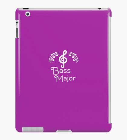 Bass Major  iPad Case/Skin