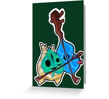 Legend of Zelda - WW Makar the Korok Greeting Card