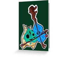 Legend of Zelda - WW Makar the Korok Greeting Card