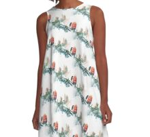 Banksia and New Holland (2017 edition) A-Line Dress