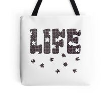 The Puzzle Of Life Tote Bag