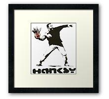 Hanksy  Framed Print