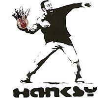 Hanksy  Photographic Print