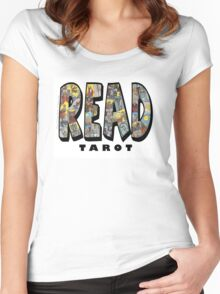 Be Well Read - READ TAROT Women's Fitted Scoop T-Shirt