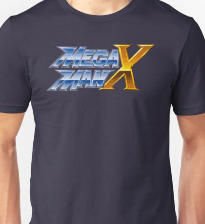 Mega Man X (SNES Title Screen) Unisex T-Shirt