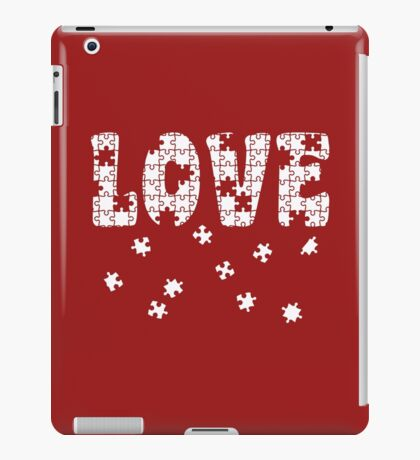 The Puzzle of Love iPad Case/Skin