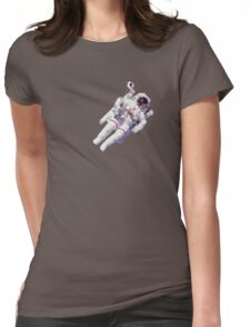 Astonaut Lost in Space Womens Fitted T-Shirt