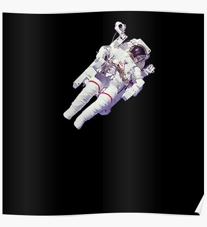 Astonaut Lost in Space Poster