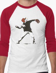 Holden Caulfield Flower Bomber Men's Baseball ¾ T-Shirt
