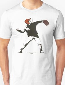 Holden Caulfield Flower Bomber T-Shirt