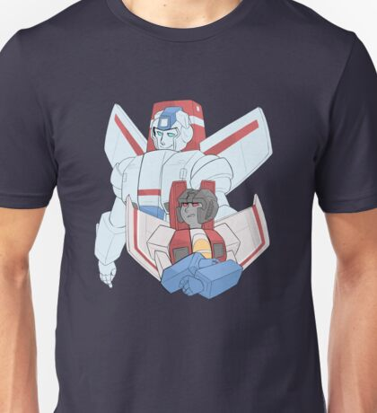 Transformers G1 - Starscream + Skyfire Unisex T-Shirt