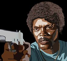 Pulp Fiction by Moozie32art