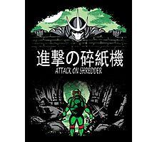 Attack on Shredder (Raph) Photographic Print