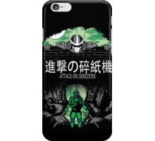 Attack on Shredder (Leo) iPhone Case/Skin