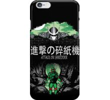 Attack on Shredder (Raph) iPhone Case/Skin