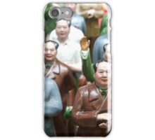 Mao Tse Tung Statues in Hong Kong iPhone Case/Skin