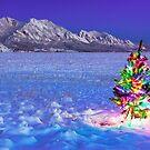 Christmas Along the Flatirons by Ryan Wright