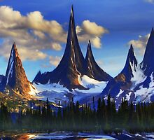 Majestic Valley by Cliff Vestergaard