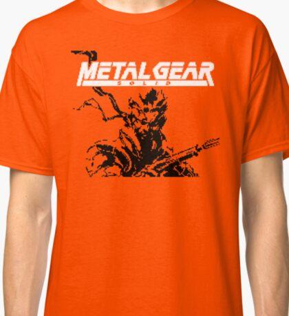 Metal Gear Ghost Babel (GBC Title Screen) Classic T-Shirt