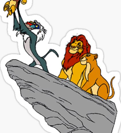 The Lion King - Pride Rock Sticker