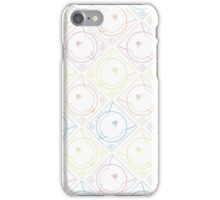 Dreamcast Outlines (white) iPhone Case/Skin