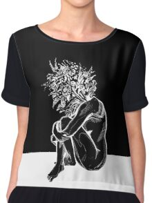 Blossom in The Void Chiffon Top