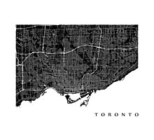 Toronto (Black) Photographic Print