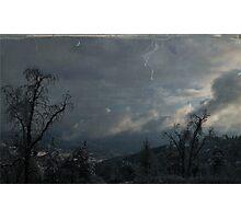 """ Blue Jean Sky's "" Photographic Print"