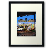 post party Framed Print