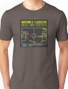 Troy Deeney Goal: Watford 3-1 Leicester 2013 Unisex T-Shirt