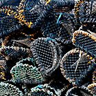 Lobster Traps by Marylou Badeaux