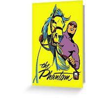 phantom Greeting Card