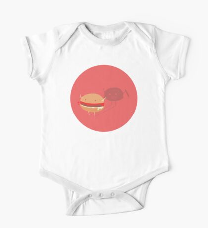 Fast fat food One Piece - Short Sleeve